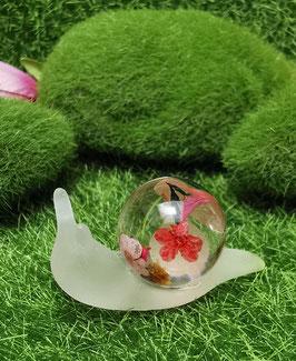 zauberhafte Schnecken - mittel - Blüten