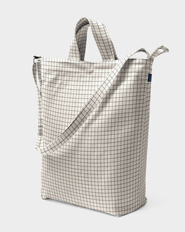 Baggu (USA) Duck Bag Natural Grid