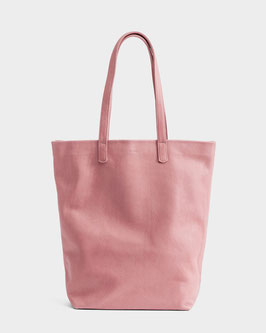 Baggu (USA) Basic Tote Bag Leather rose blush