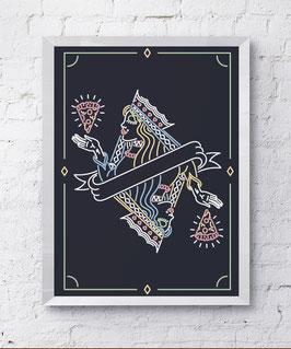 Queen Plakat Kunstdruck
