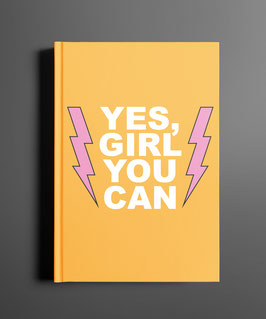 Yes-Girl DINA5 Notizbuch