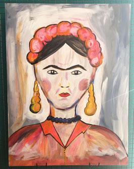 Unikat Frida - Kunstwerk
