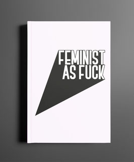 Feminist AF DINA5 Notizbuch