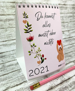 Tischkalender DINA6 - Du kannst alles