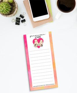 Mädelsschnack To Do Liste Zusammen Pink