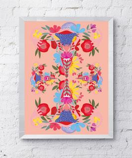 Viva La Vulva Plakat Kunstdruck