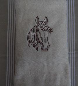 "Drap de douche ""cheval"""