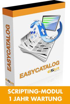 EasyCatalog Scripting-Modul 1 Jahr Softwarewartung