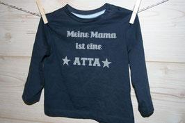 Bügelbild ''Meine Mama ist eine ATTA''
