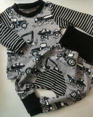 Babyset aus kbA (bio) Baumwolle