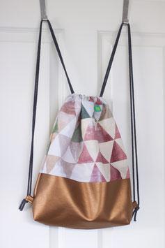 Turnbeutel -Triangles Kupfer-