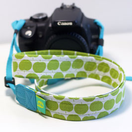 Kameraband kurz -grüne Äpfel-