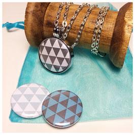 Kette mit Magnetanhänger - Triangle -