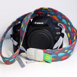 Kameraband -bunte Tropfen-