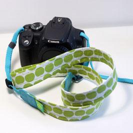 Kameraband -grüne Äpfel-