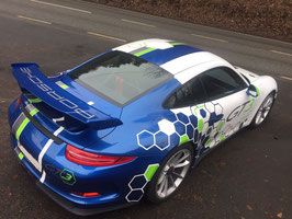 2 bis 3 Runden, Porsche 911 991 GT3 Sportwagen Rennwagen, Nürburgring Nordschleife