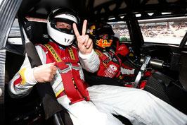 2 Runden, Audi RS 5 DTM Renntaxi Co Pilot, Zandvoort