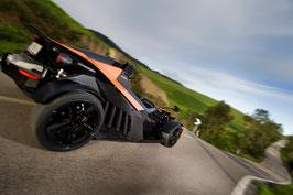 Ca. 20 Minuten oder ca. 40 Minuten , KTM X-BOW selber fahren oder 3 Runden KTM X-BOW Renntaxi, Red Bull Ring