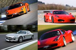 4 oder 6 Runden, Lamborghini Gallardo, Ferrari oder Lamborghini Huracan selber fahren, Circuit de Laquais