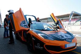 2 bis 15 Runden, McLaren MP4-12C, Salzburgring