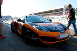 2 bis 15 Runden, MC Laren MP4-12C Renntaxi Co Pilot, Oschersleben