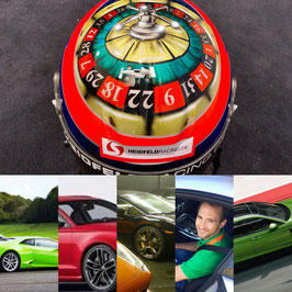 Roulette Sportwagen Event: Ferrari, Lamborghini, Porsche, McLaren, AMG, Ariel Atom, BMW ODER Audi. Deutschland 3 Orte: bei Aachen, bei Berlin & bei München (Vertragspartner Code: HR)