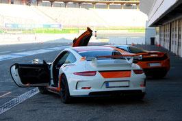 2 bis 15 Runden, Porsche 911 GT3 Renntaxi Co Pilot, Hockenheimring