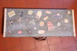 Amusante valise customisée