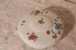 Bonbonnière porcelaine Limoges décor Haviland