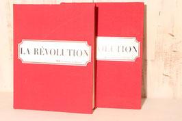 """2 tomes """" La révolution"""" 1965 collection reliées Hachette Tome 1 : Des états généraux au 9 thermidor - Tome 2 : du 9 thermidor au 18 brumaire"""