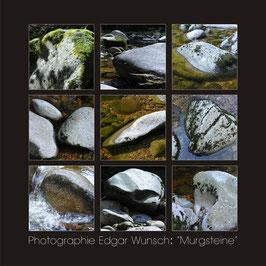 """murgsteine"" Leinwand, 120x120cm"