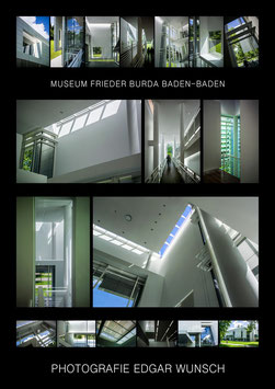 """Museum Frieder Burda, Baden-Baden"", Din A0 (84x118,9cm)"