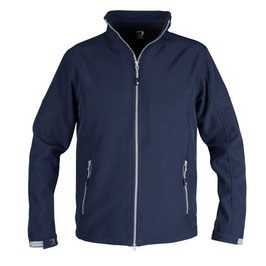 Horka unisex action softshell jacket blue