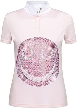 Imperial Riding Competition Shirt Smiley Kids WIT