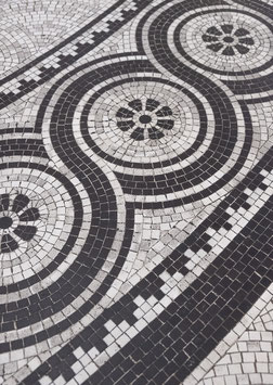 Mosaic Floor by Nora Brumm