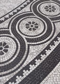 Mosaic Floor by Nora Brumm