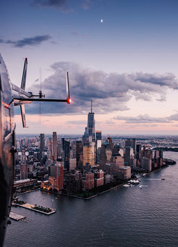 Helicopter Ride by David Biedert