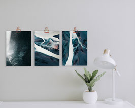 Poster-Bundle 'Three Pearls' (A4)