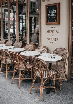 Einzel-Postkarte 'Parisian Day'