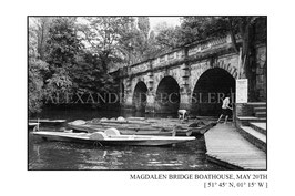Magdalen Bridge Boathouse