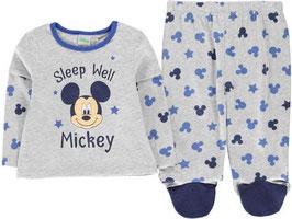 ✔ DISNEY Mickey Mouse Baby Jungen Schlafanzug