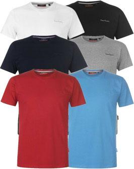 ✔ PIERRE CARDIN Herren T-Shirt Rundhals