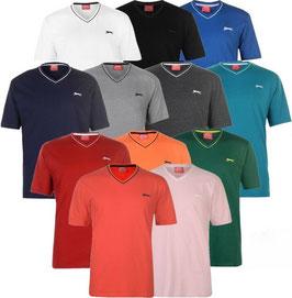 ✔ Slazenger Herren V-T-Shirt