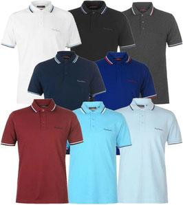 ✔ Pierre Cardin Herren Polo Shirt Tipped