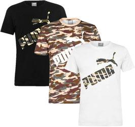 ✔ Puma CAMO Logo Herren T-shirt