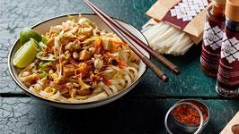 Pad Thai VEGAN - gebratene Reisbandnudeln mit Shoyu (3-4 Portionen)