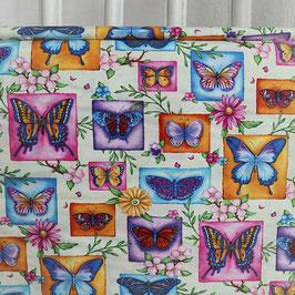 Schmetterlinge, bunt