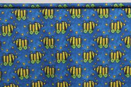 Jersey, Janosch's Tigerente, blau, Sterne