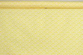 Zitronenscheiben, gelb/weiß, PW