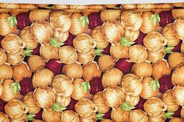 Rote und weiße Zwiebeln, beige, PW